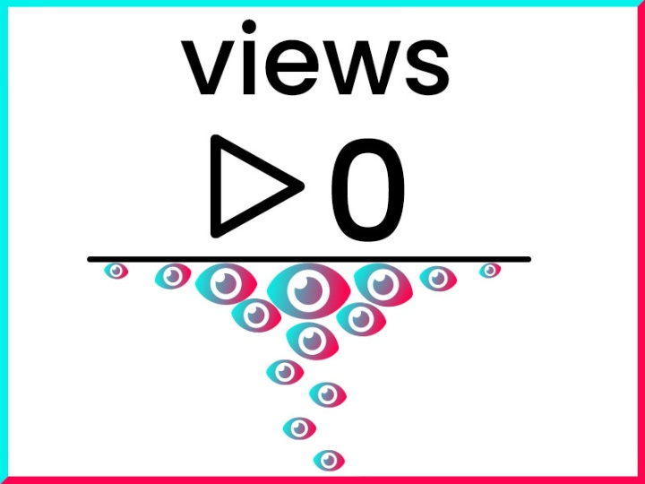 A question why TikTok views are stuck at 0